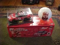 Budweiser 2001 Dover Win Raced Version set, comes mounted in acrylic display case and with Wilson volleyball 1/24 Scale Clear Window Car Revell Limted Production With Certificate of Authenticity COA ()
