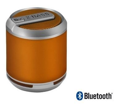 Cyanics Divoom Bluetune Solo Portable Bluetooth Speaker and Speakerphone for iPhone 5, 4S, 4, Samsung Galaxy S3, S2. iPad, LG Optimus G and more (Color Option: ORANGE)