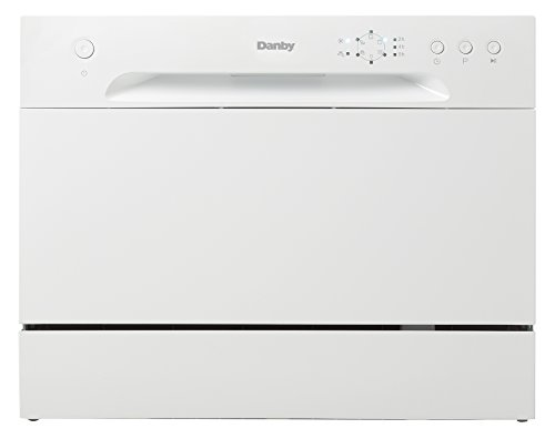 New Model Danby DDW621WDB Countertop Dishwasher White