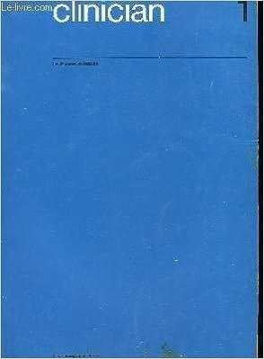 Amazon.fr - Clinician n°1 : les glandes surrénales. - COLLECTIF - Livres