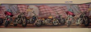 Harley Davidson Motorcycles Wallpaper Border