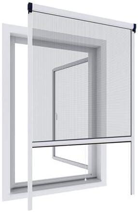 Wip Aluminio protección contra Insectos para Ventanas (100 x 160 y 130 x 160 cm Blanco o Antracita, Weiß, 100x160cm: Amazon.es: Hogar