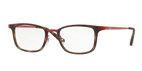 Ray-Ban Men's RX6373M Eyeglasses Red - Ray Red Ban Eyeglass Frames
