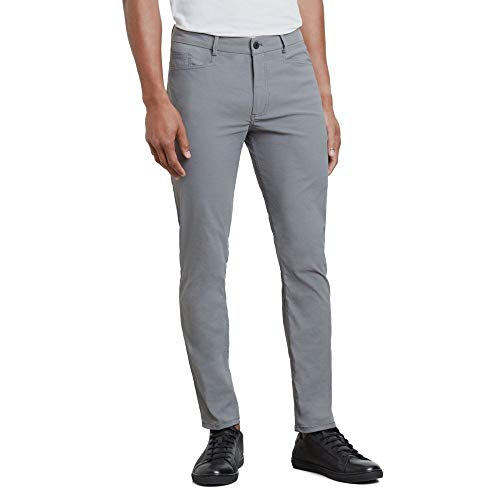 Kenneth Cole Reaction The Mobility L-Pocket Pant in Solid Twill