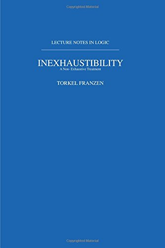 Inexhaustibility: A Non-Exhaustive Treatment: Lecture Notes in Logic 16 (Lecture Notes in Logic, 16)