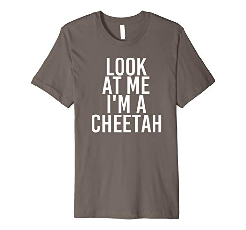 Red And Cheetah Outfits (Cheetah Costume Group Easy Outfit Shirt for)