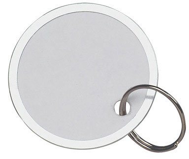Hy-Ko Paper Id Tag W/Ring Metal Rim Tilt Bin Refill Pack by HY-KO PRODUCTS CO