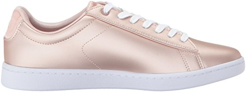 Lacoste Women's Carnaby EVO 118 7 Spw Sneaker, Natural/White, 8.5 M US