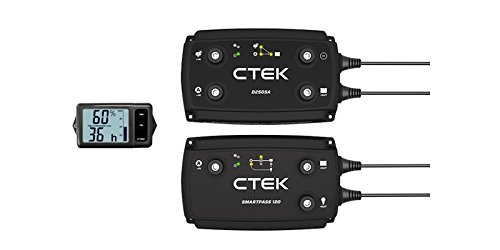 CTEK 40-256 20A Off Grid Bundle-D250SA and Battery Monitor