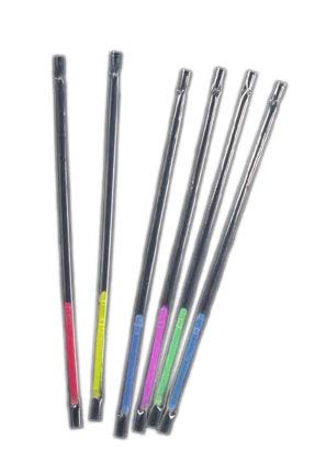 Glow Stick Straws 6/Pkg-Assorted Neon Colors for $<!--$4.00-->