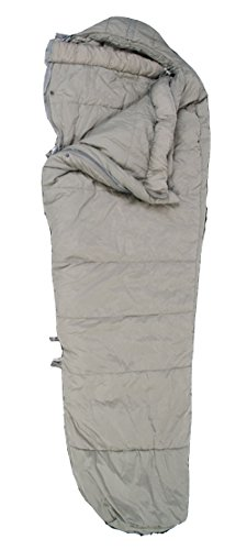 Military Outdoor Clothing Previously Issued U.S. G.I. Urban Gray Intermediate Cold Weather Sleeping Bag