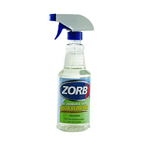 ZORBX Unscented Multipurpose Odor Remover –Safe for All, Even Children, No Harsh Chemicals, Perfumes or Fragrances, Stronger and Safer Odor Eliminator Works Instantly (16oz)