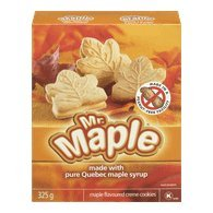 Pack of 2 -Mr. Maple Maple Flavoured Creme Cookies 325g - {Imported from Canada}