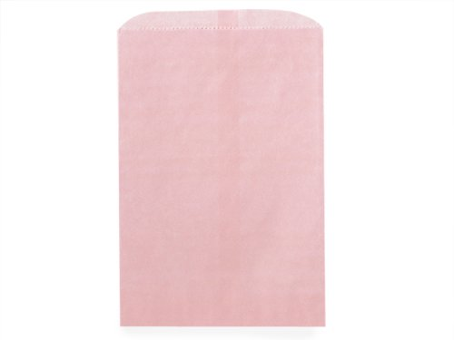Pack of 1000, Solid Petal Pink Merchandise Bags 12 x 15'' for Holiday, Party, Special Occasion by Generic