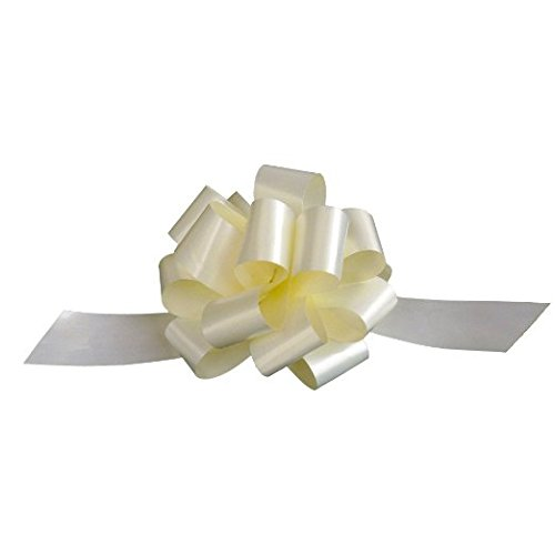 Ivory Decorative Gift Pull Bows - 5