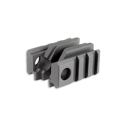 Midwest Industries Tactical Light Mount for Standard Front Sight, Black