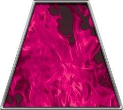 Pink Fire Helmets (Fire Helmet TETRAHEDRONS Inferno Pink - Set of 8)