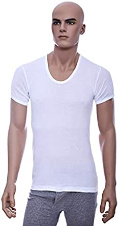 John Gladstone White Under Shirt For Men