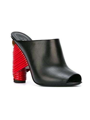 Balenciaga Cuir 454460WADH0BLK Femme Chaussures Talons À Noir 7B6Z7wq