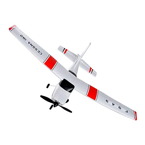 Gbell RC Airplane RTF Glider for Kids,WLtoys F949 3CH 2.4G Indoor Outdoor RC Glider Plane Composite Material Toys Christms Birthday Gifts for Boys Girls 10+ Year Old & Beginners (White (Best Wltoys For Kids)