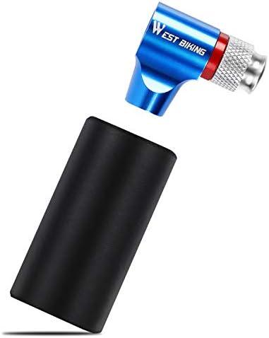 Mini Bomba de CO2 para neum/áticos de Bicicleta WESTGIRL