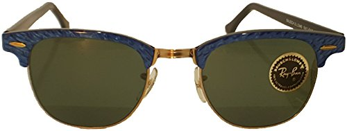 Clubmaster Ray-Ban by Bausch & Lomb New Never Owned Electric Blue Limited - Ban Limited Ray