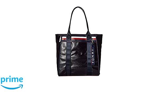 uk store hot products utterly stylish Amazon.com: Tommy Hilfiger Women's Viola Coated Canvas Tote ...