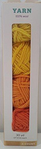 Hand Made Modern - 4ct Multipack Yarn - Warm Colors