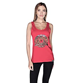 Creo Tank Top For Women - M, Pink