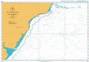 Ba Diagramm 4201  Southeast Coast von Südamerika von UNITED KINGDOM Hydrographic Büro