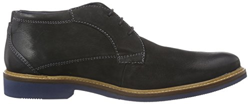Daniel Hechter HB59011G5 - botas de cuero hombre negro - negro
