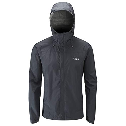 RAB Downpour Jacket - Men's Black Medium for sale  Delivered anywhere in USA