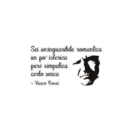 Stampepersonalizzate Com Am60 Vasco Rossi Inguaribile Romantica