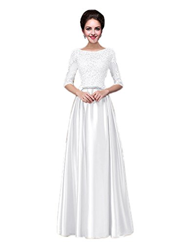 vimans Girls Formal Quinceanera Dresses Long Sleeve Maxi Prom Gowns, 26w