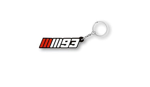 Marc Marquez 93 Moto GP goma llavero oficial Nuevo: Amazon ...