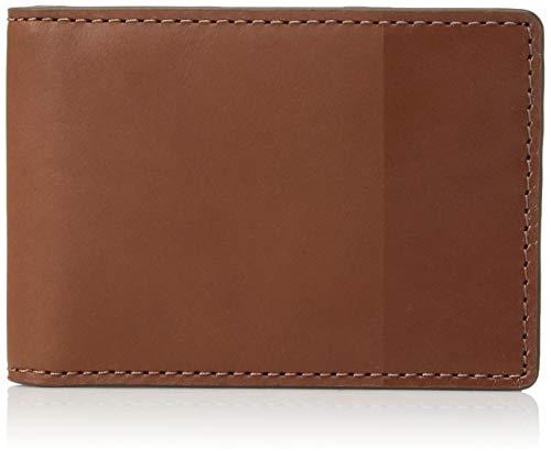 (Fossil Men's Nev Front Pocket Bifold Cognac, 4.25