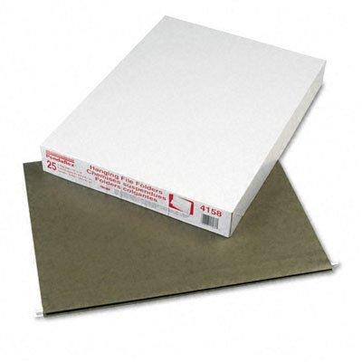 Pendaflex® Reinforced Hanging File Folders, Kraft, X-Ray 18 x 14, Standard Green, 25/Box by Pendaflex Essentials
