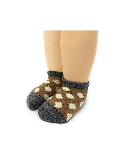 Warrior Alpaca Socks - Dye-Free Infant & Toddler Ankle Socks - Unisex - Baby Alpaca Wool Sox - Temperature Regulating