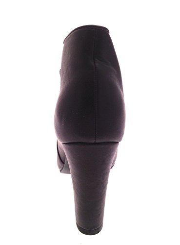 Unido Tamaño Reino con 3 piel Botas y niñas para alto sintética Plataformas tacón para Zapatos 8 mujer de Borgoña tobillo ocultas aqwwUTZf