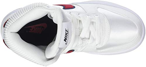 100 White Baloncesto para Ebernon Zapatos Blanco Wmns Blackened Mujer Crush Red Prem de NIKE Blue Mid ZCAx1qwnB
