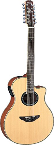 Yamaha APX700II-12 12-String Thinline Cutaway Acoustic-Electric Guitar – Natural