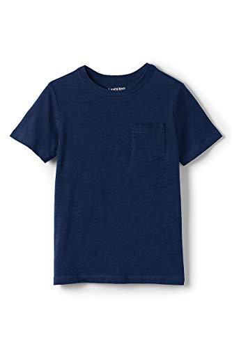 - Lands' End Little Boys Solid Slub T Shirt