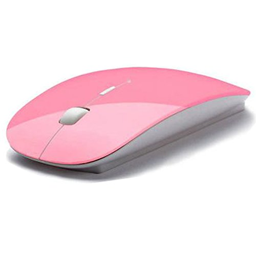 SPHTOEO Ultra Thin USB Optical Wireless Mouse 2.4G Receiver
