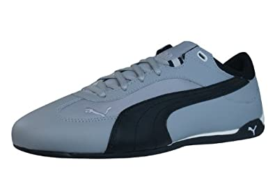 Puma Fast Cat Material Pack Mens Leather Trainers   Shoes - Grey - SIZE UK  10.5 26313bb01