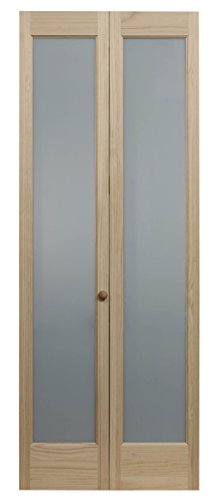 sted Full Glass Bifold Interior Wood Door, 36