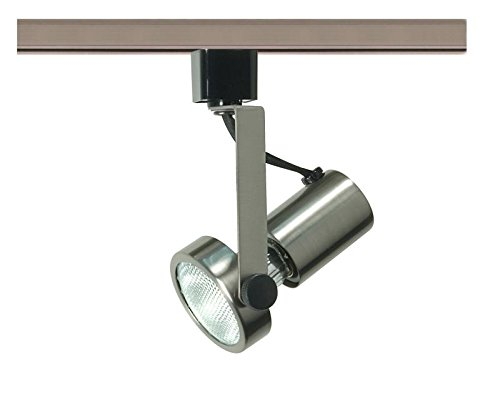 Nuvo Lighting TH323 Mr16 Gimbal Ring Track Head, Pwt, Nckl, B/S, Slvr. (Gimbal Ring Track Voltage Low)