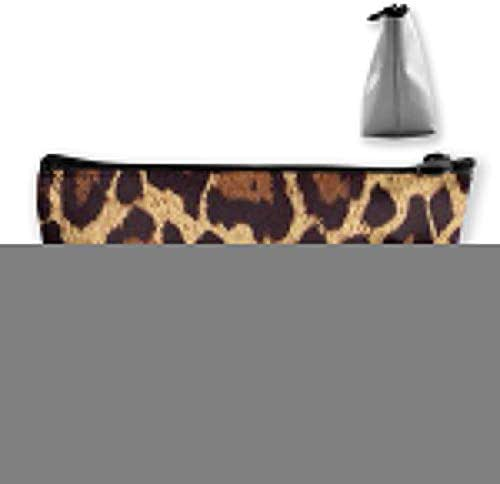 Leopard Print (3) Women Girls Hanging Clutch Bag Cosmetic Bag Travel Makeup Bags Trapezoid Bag