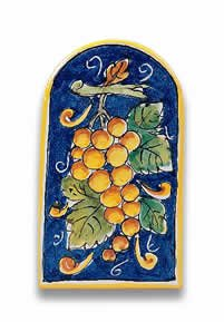 Hand Painted Ceramic Wall Tile - 6