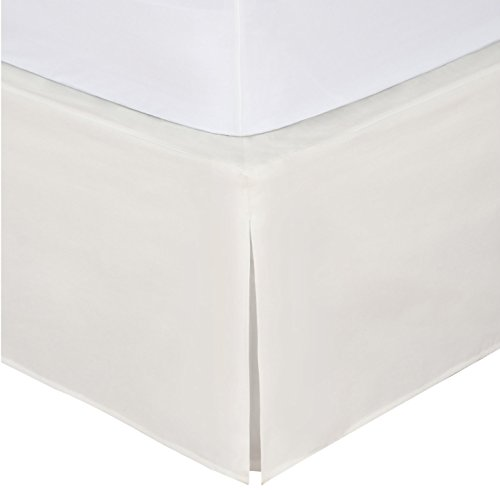 MK Collection Full Size Solid Beige Bed Skirt New