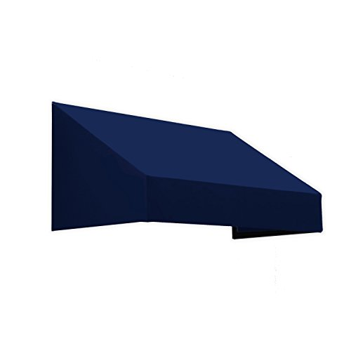Awntech 3-Feet New Yorker Window/Entry Awning, 16-Inch Height by 30-Inch Diameter, Navy